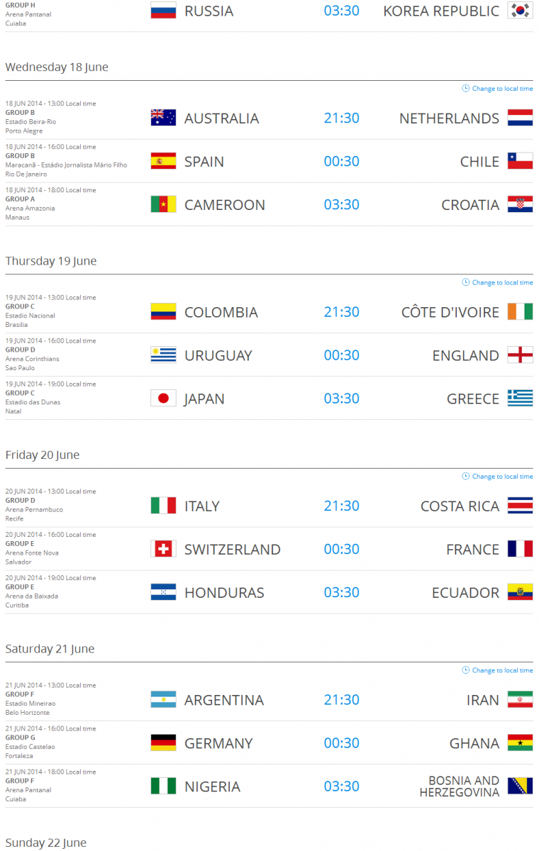 The-matches-of-the-2014-FIFA-World-Cup-Brazil