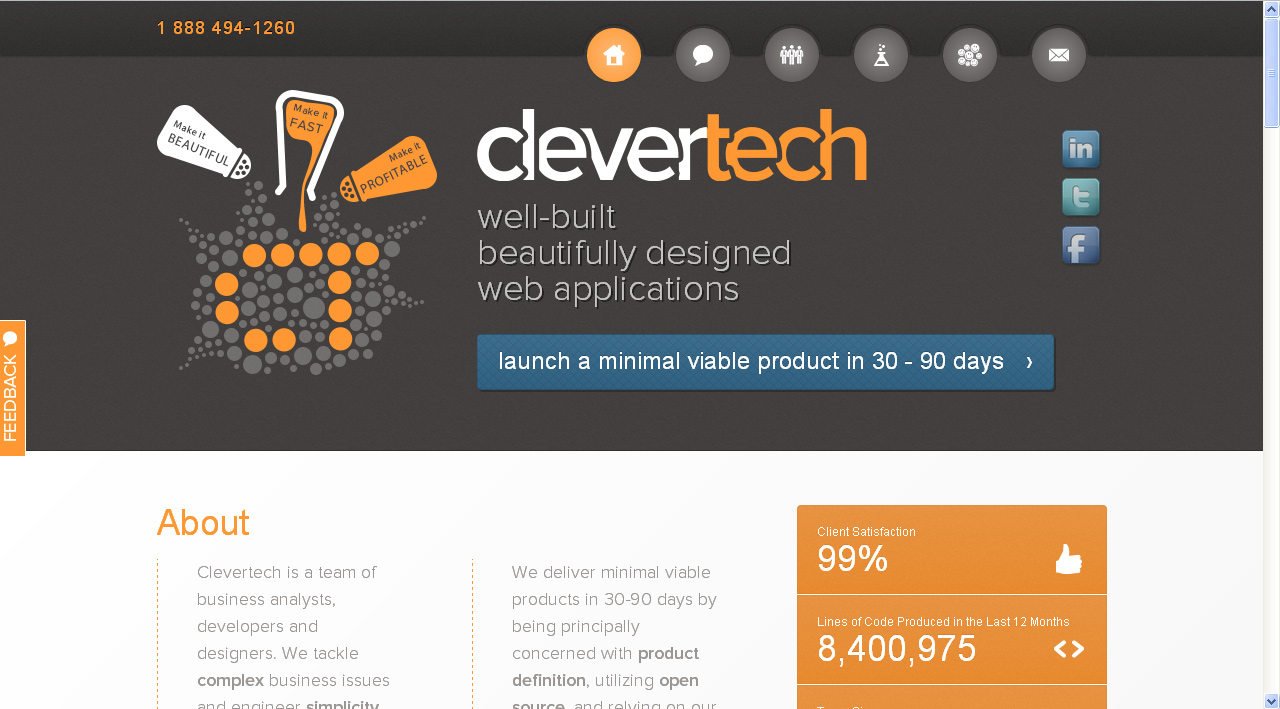 clevertechbiz-website