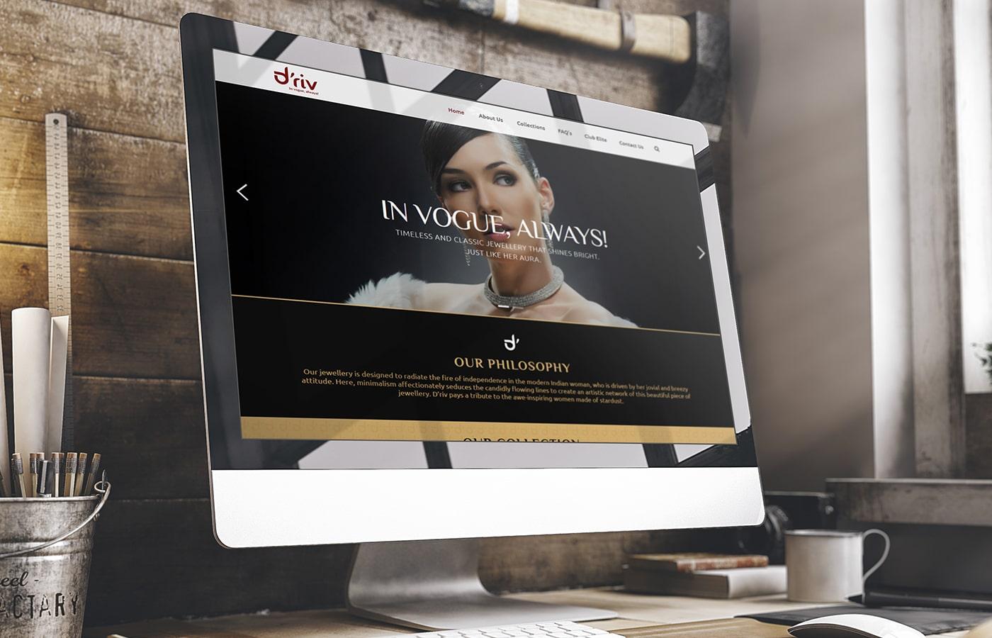 Driv Website