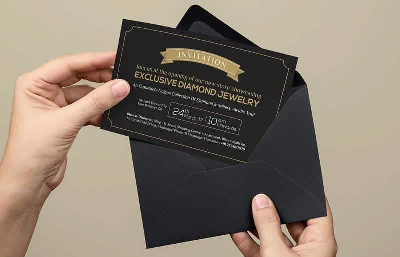 D'riv Invitation Card