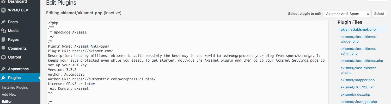 plugin-editor