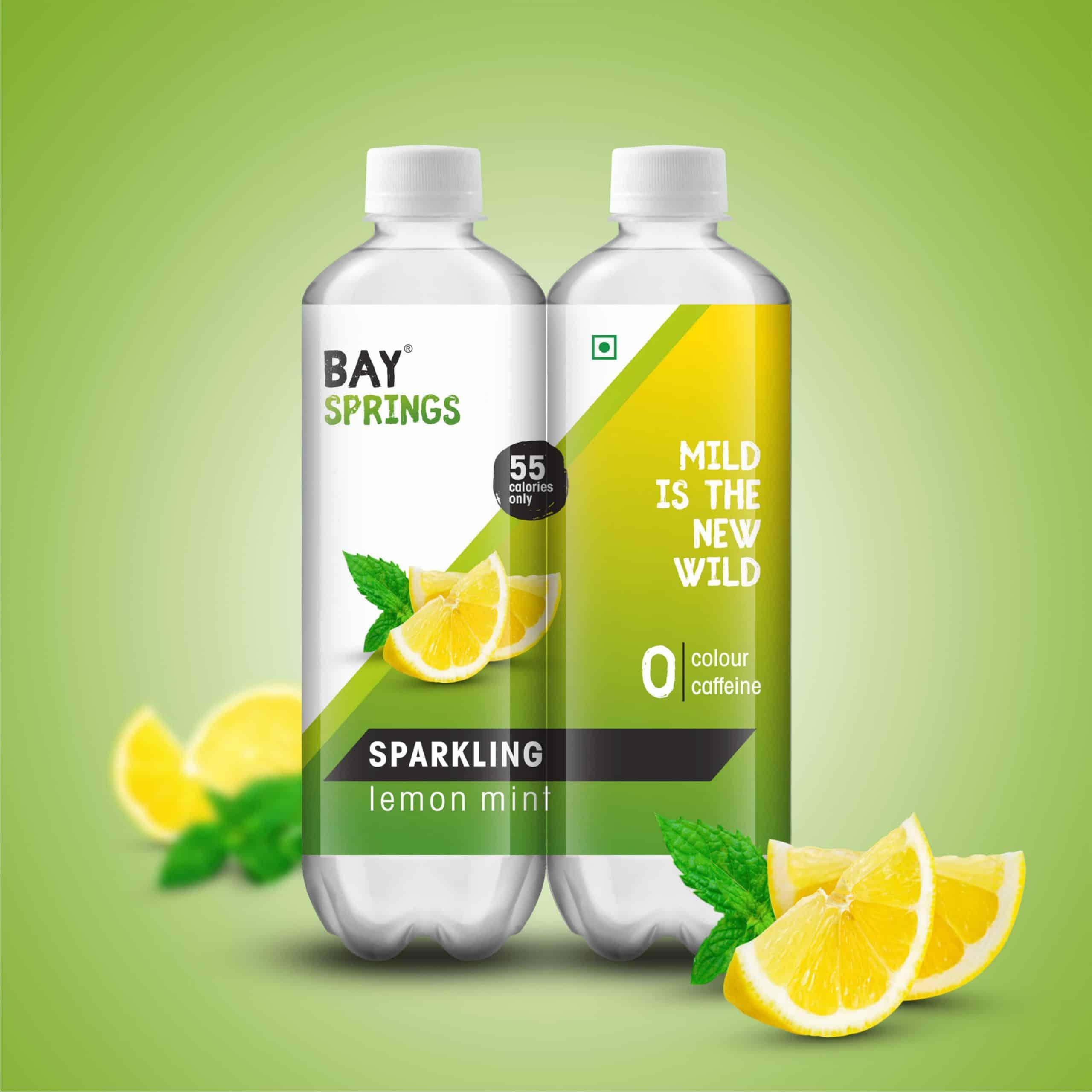 Aerated Drink Label Design